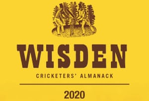 The Wisden Cricketers' Almanack is edited by Lawrence Booth.