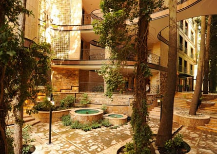 Nikbakht house, Niavaran house, Tehran, designed to include existing trees. Cities: architecture