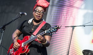 'There's not a lot of visibility for black women with guitars unless you're playing blues or singing gospel.'