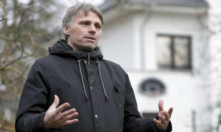Prof Fabian Leendertz of the Robert Koch Institute in Germany.
