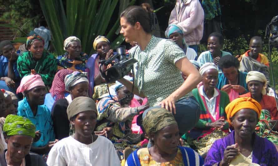 Kirsten Johnson filming in Rwanda … Cameraperson, Sundance 2016
