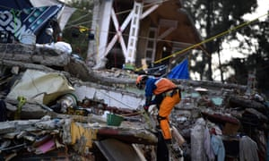 The two recent earthquakes in Mexico have killed 380 people.