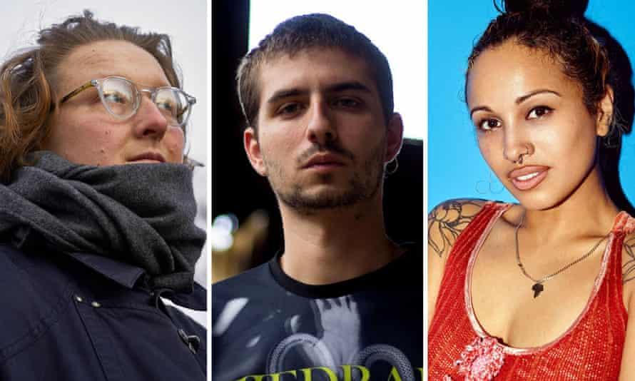 (L-R) Beatrice Dillon, Lechuga Zafiro and Venus X