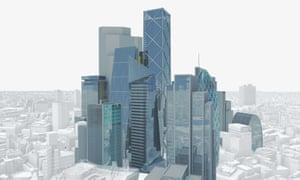 A Tortured Heap Of Towers The London Skyline Of Tomorrow