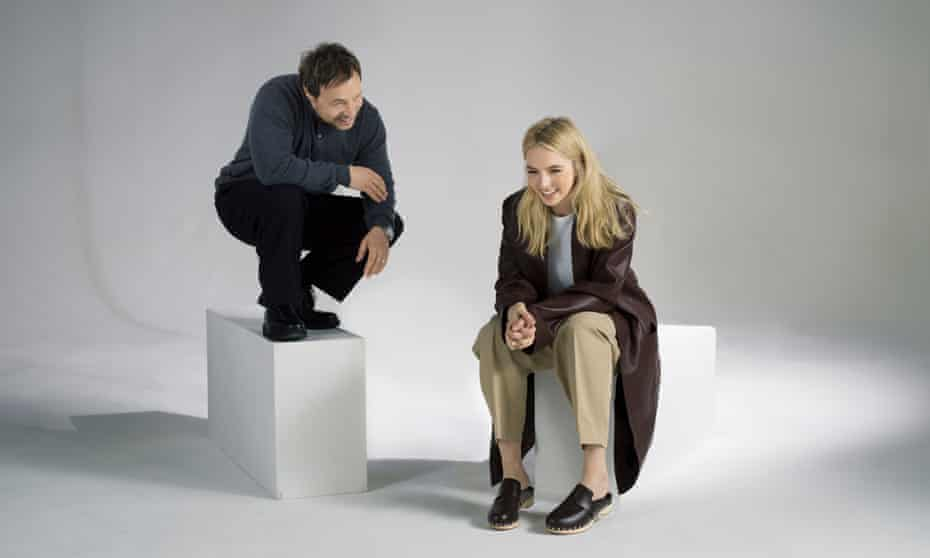 Jodie Comer and Stephen Graham photographed for the Observer New Review by Pal Hansen in London.