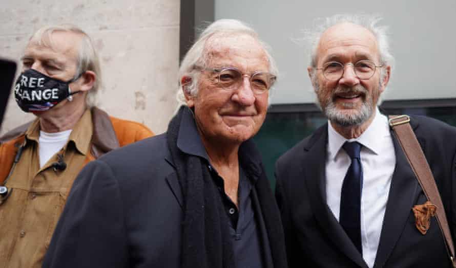 John Pilger and John Shipton