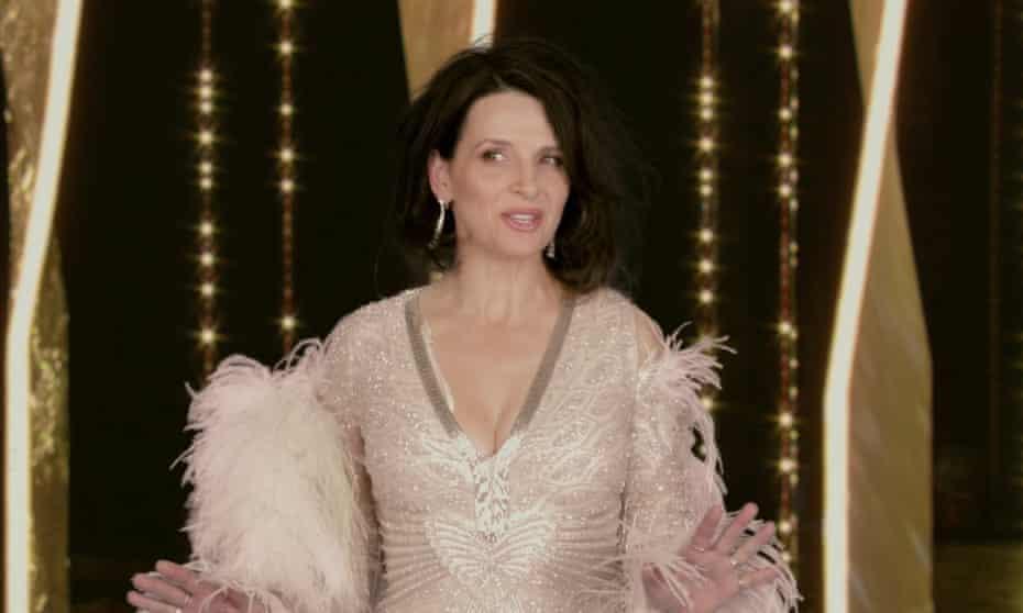 Cannes You Believe it ... Juliette Binoche in Call My Agent.