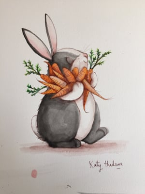 Watch Katy Hudson draw a rabbit – and then win the ...