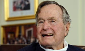 George HW Bush was vice-president under Ronald Reagan and then president from 1989 to 1993.