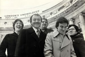 With fellow Labour stalwart John McDonnell in 1982.