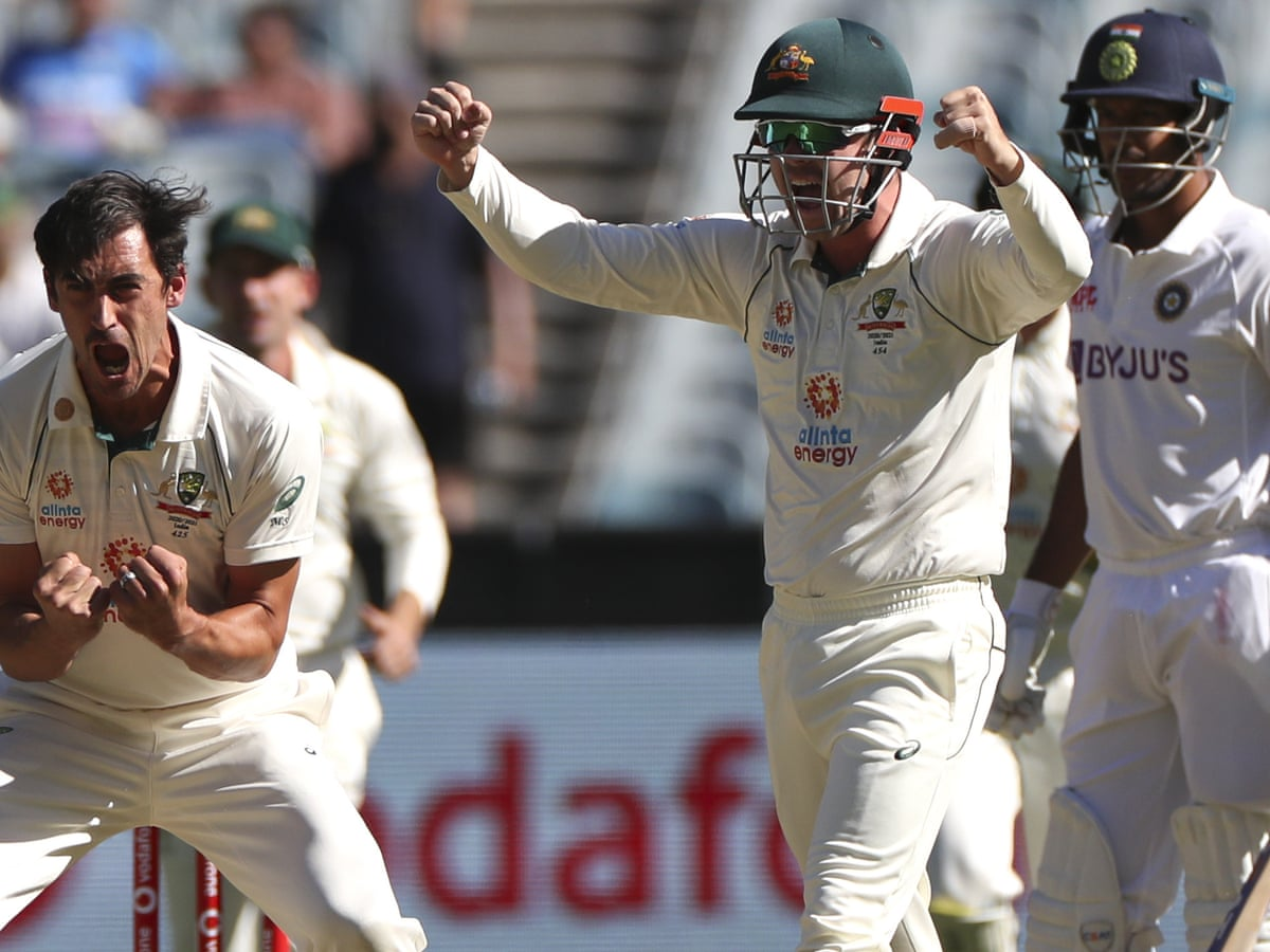 Australia V India Second Test Day One As It Happened Sport The Guardian