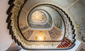 Interior from Riga's Art Nouveau Museum.