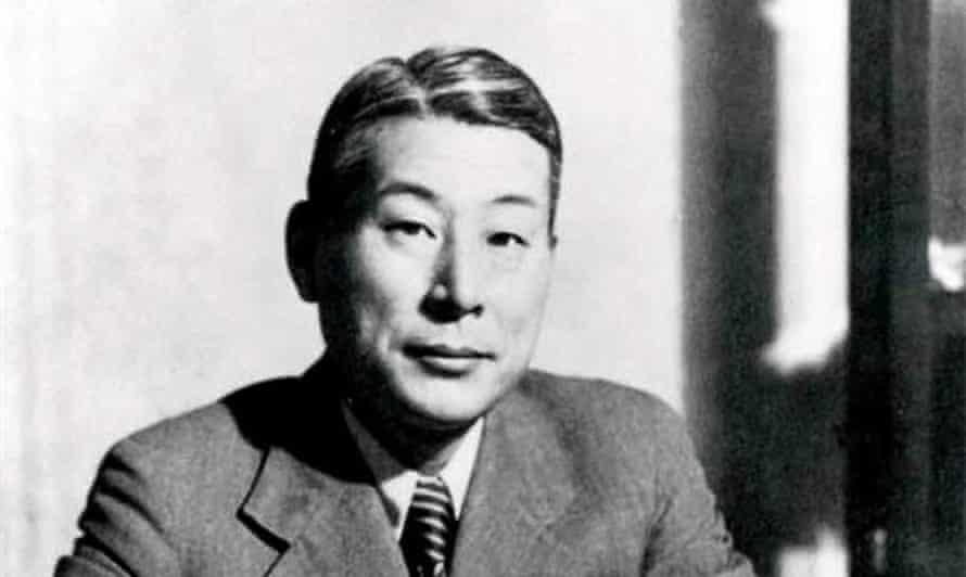 Japanese diplomat Sugihara Chiune, known as 'Japanese Oskar Schindler'.