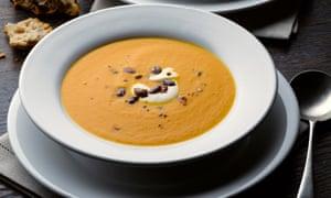 Pumpkin saffron and orange soup Yotam Ottolenghi