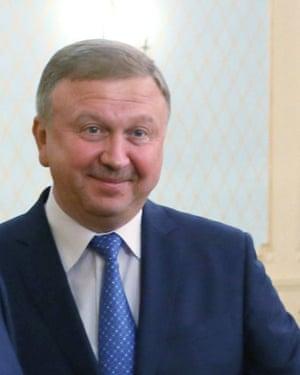 Andrei Kobyakov, former prime minster of Belarus.