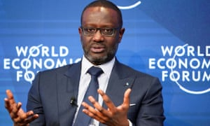 Tidjane Thiam says he had no knowledge of the spying incidents.