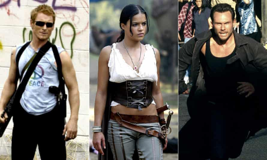 Uwe Boll's finest: Postal, BloodRayne and Alone in the Dark.