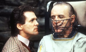 Second helping … Anthony Heald and Anthony Hopkins in The Silence of the Lambs (1991).