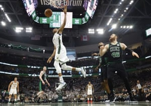 Giannis Antetokounmpo was not at his best on Sunday
