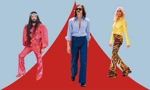 From left to right: Gucci designer Alessandro Michele, Another Man editor-in-chief and street style star Ben Cobb and Donatella Versace.