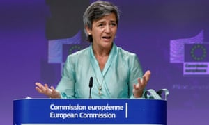 Margrethe Vestager, the Executive Vice President of the European Commission