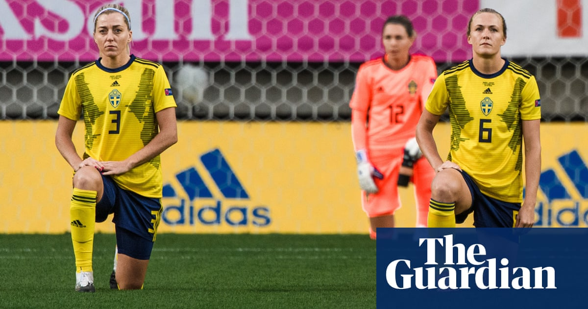 Guess what? Well do it again: Sweden footballers vow to keep taking a knee