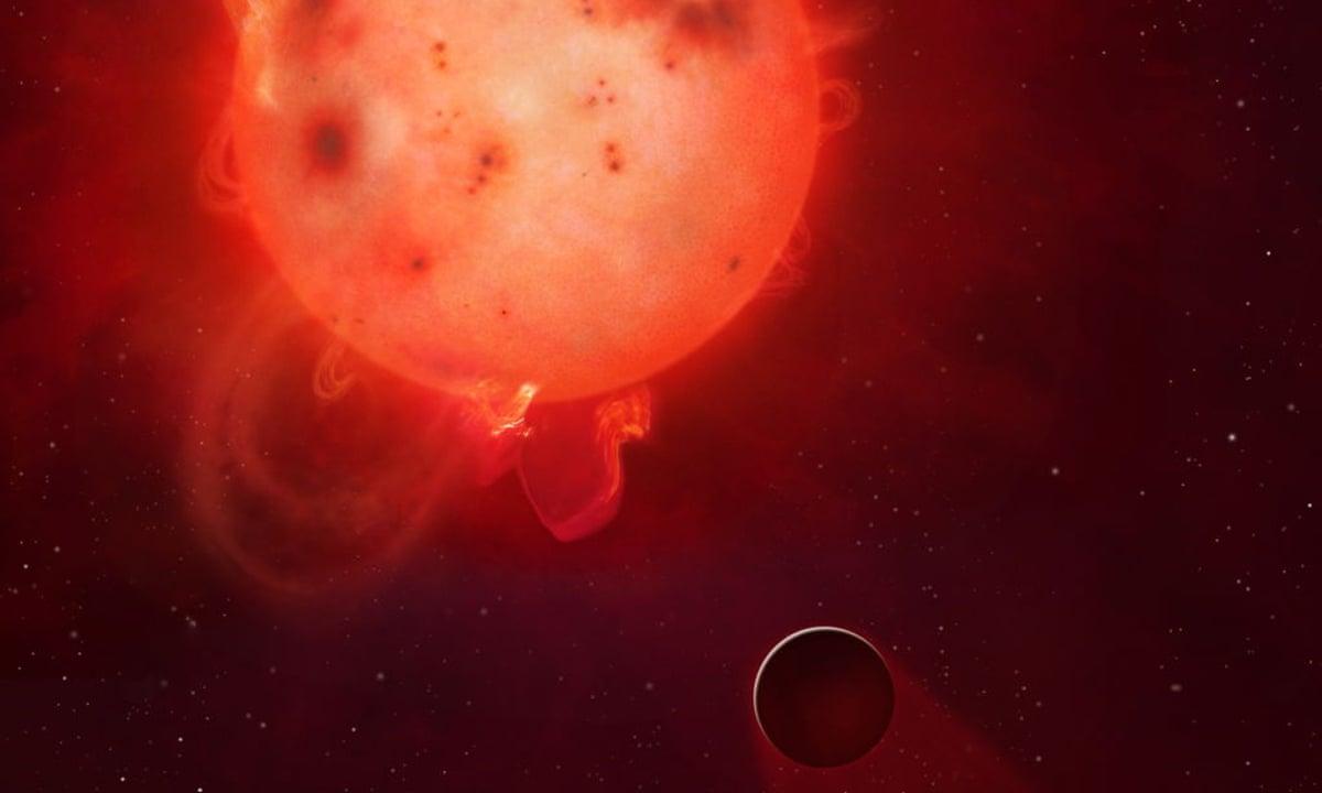 Radiation superflares make Earth-like planet uninhabitable ...