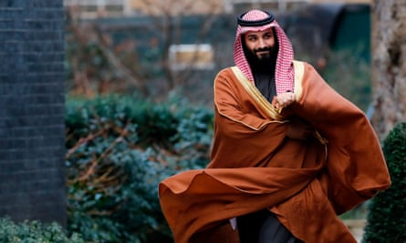 The disappearance of the siblings shows how Saudi's de facto ruler, Prince Mohammed bin Salman, pictured at 10 Downing Street in 2017, has used the children of his perceived enemies against them, says their family.