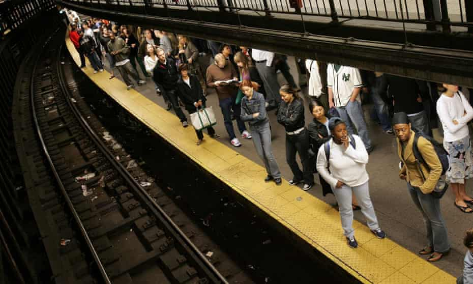 New York City's Union Square subway station, one of the loudest in the city. Eastbound trains registered around 95 decibels, just five decibels shy of a jet taking off.