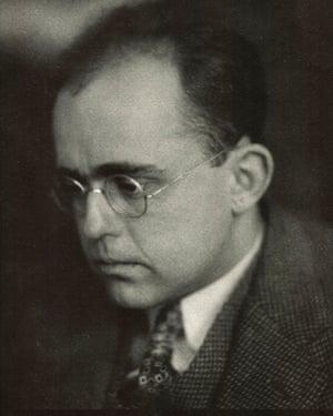 This photo dated 1925 and provided by Kunstsammlungen Zwickau museum shows art historian Hildebrand Gurlitt