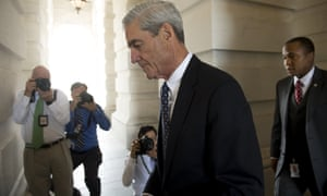 Special counsel Robert Mueller. Trump has signaled that he is in no rush to fire either Mueller or the deputy attorney general, Rod Rosenstein.