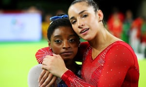 Simone Biles and Aly Raisman won gold together at the Rio Games