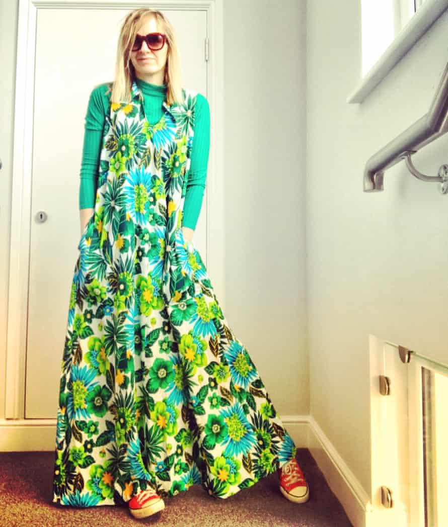 Emma Leslie in floaty dress