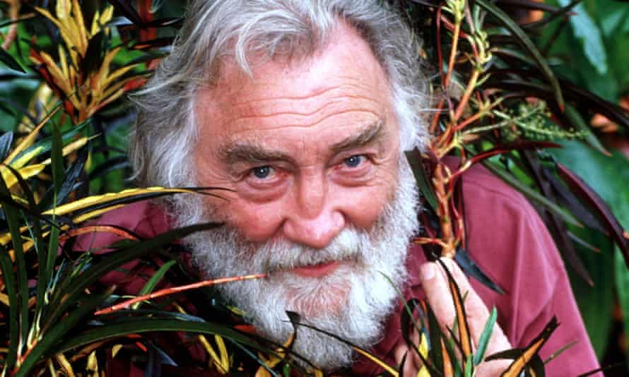 David Bellamy in 1996. He fell from media grace when he became dogged and unrelenting in his dismissal of climate change.