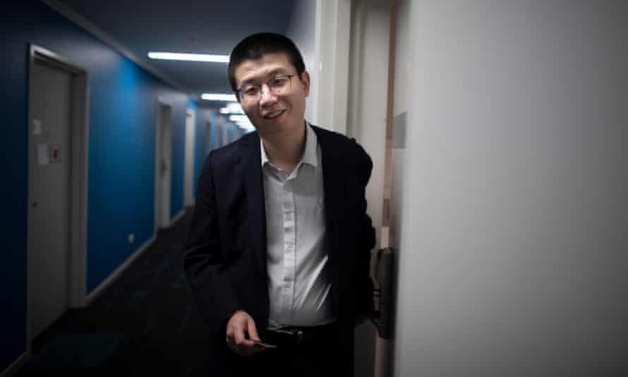 Australian National University mathematics student Wu Lebao