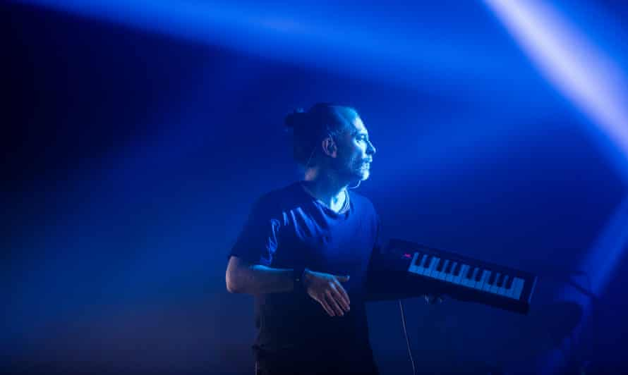 Thom Yorke's patter ran from leylines to Theresa May.