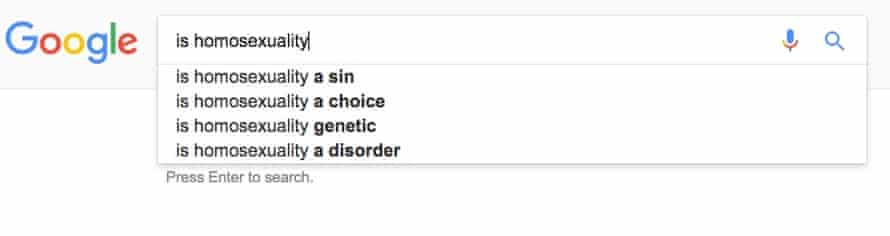 googlehomosexuality