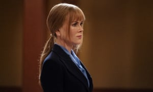 'You lost your sons. You don't get to take mine' ... Nicole Kidman as Celeste in the courtroom standoff.