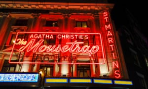 The 'bed-blocking' The Mousetrap.