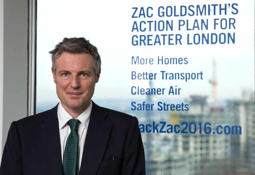 Zac Goldsmith unveils his action plan for Greater London.