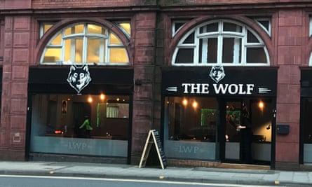 The Wolf pub in Birmingham