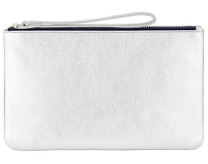 Contrast Leather Zip Pouch, £39, John Lewis