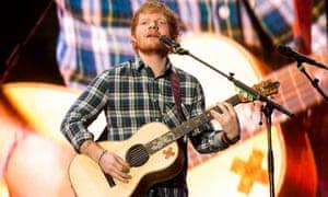 Ed Sheeran: makes Enya sound like Kraftwerk