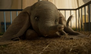 A scene from Disney's live-action remake of Dumbo.