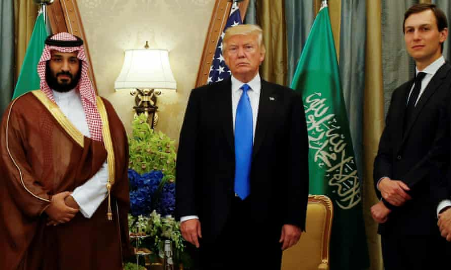 'Soon after Trump was elected, the Saudi crown prince and his advisers targeted Kushner as their gateway into Trump's inner circle.'