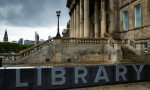Central library in Liverpool