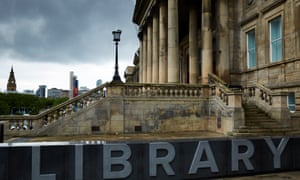 Further cuts on the way … Liverpool Central library.