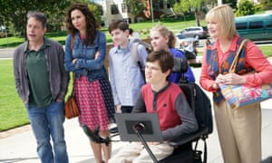 Minnie Driver and the cast of Speechless.