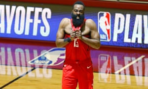 James Harden and the Rockets put a rough few games behind them on Saturday