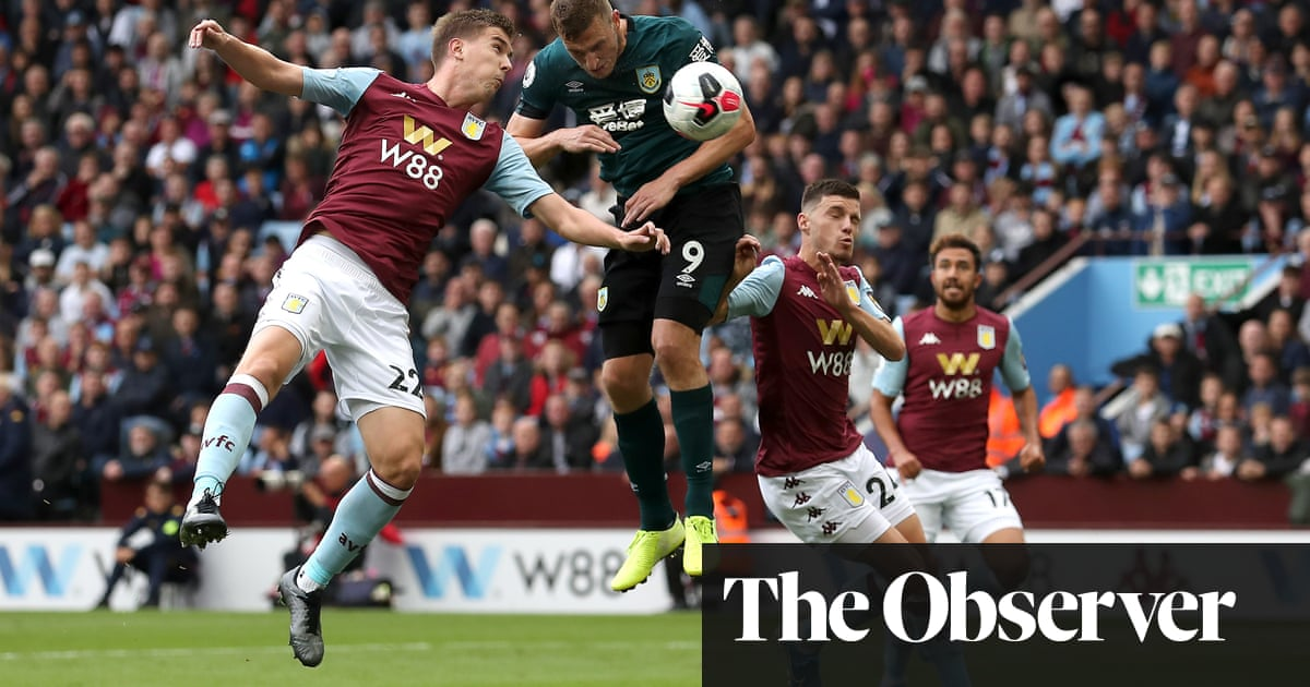 Chris Wood strikes for Burnley to deny a frustrating Aston Villa